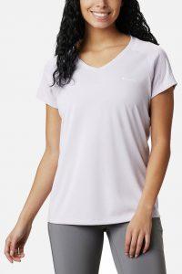 חולצת אימון קולומביה לנשים Columbia Zero Rules - סגול