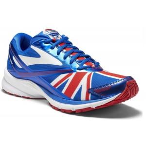 נעליים ברוקס לגברים Brooks Launch 4 - לבן/אדום
