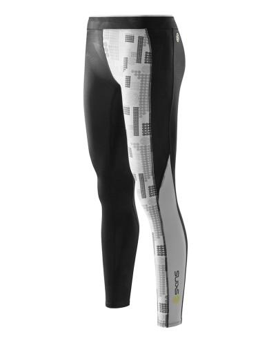 ביגוד Skins לנשים Skins A200 Long Tights - שחור/לבן