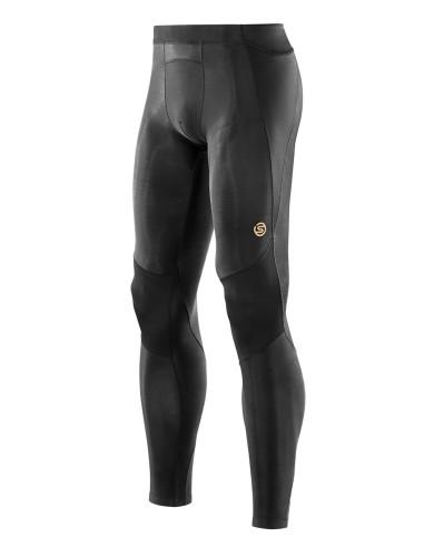 ביגוד Skins לגברים Skins A400 Long Tights - שחור מלא