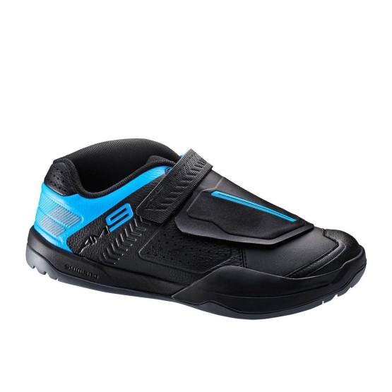 נעליים שימנו לגברים Shimano AM9 - שחור/כחול