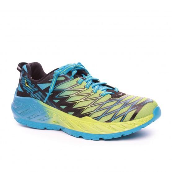 נעליים הוקה לגברים Hoka One One Clayton 2 - כחול/צהוב