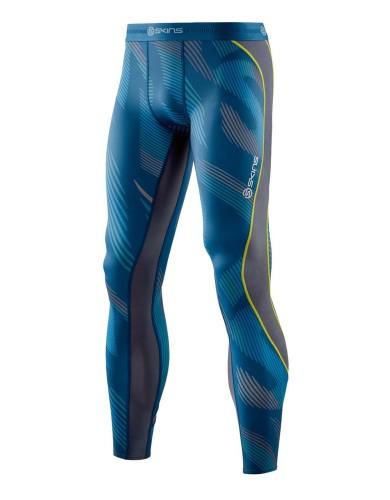 ביגוד Skins לגברים Skins DNAmic Long Tights - כחול