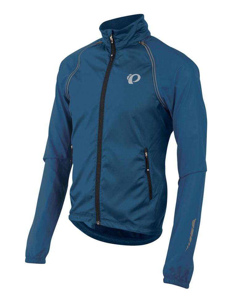 בגדי חורף פרל איזומי לגברים Pearl Izumi Elite Barrier Convertible Jacket - כחול