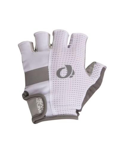 ביגוד פרל איזומי לגברים Pearl Izumi Elite Gel Glove - לבן/אפור
