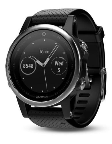 שעוני מולטי ספורט גרמין לנשים Garmin Fenix 5S - שחור