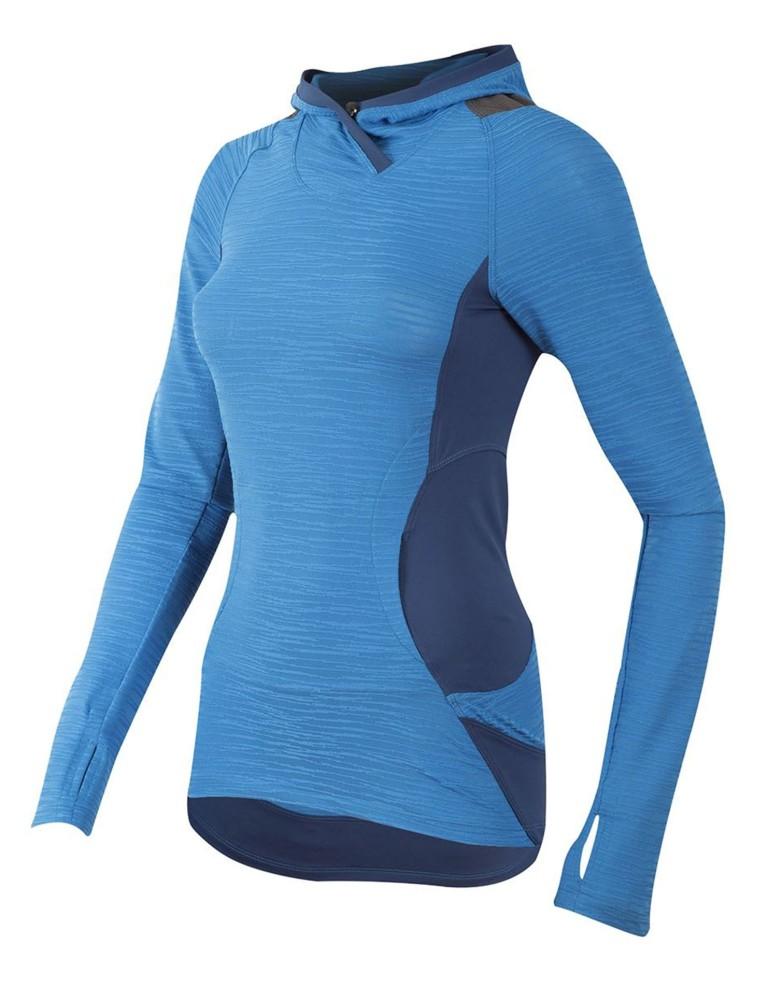 בגדי ים פרל איזומי לנשים Pearl Izumi Flash Hoody - כחול