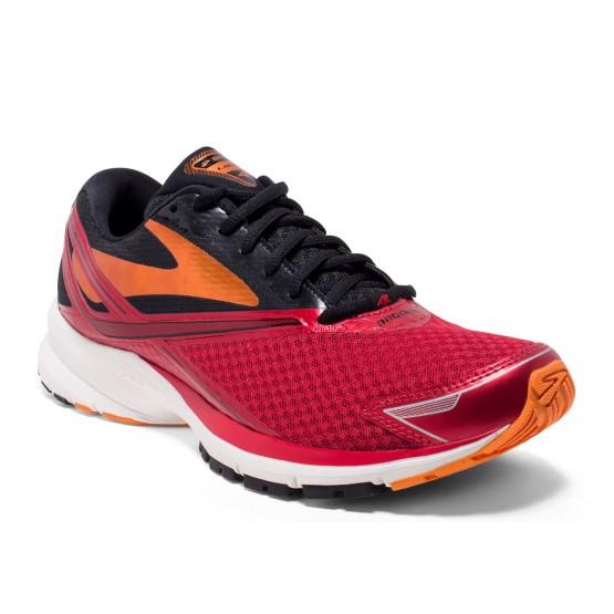 נעליים ברוקס לגברים Brooks Launch 4 - שחור/אדום