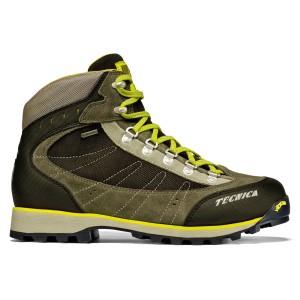 נעלי הליכה Tecnica לגברים Tecnica Makalu III GTX - חום/צהוב
