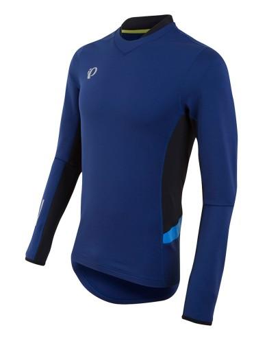 מוצרי פרל איזומי לגברים Pearl Izumi  Pursuit Thermal Top - כחול