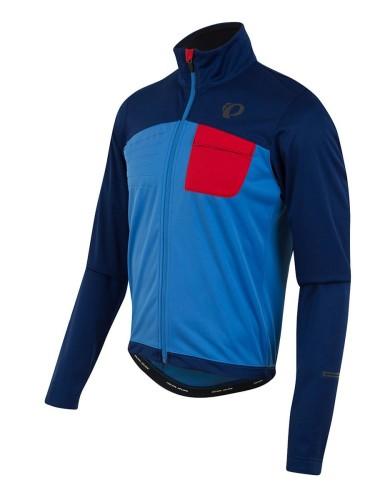 ביגוד פרל איזומי לגברים Pearl Izumi Select Escape Softshell Jacket - כחול/תכלת
