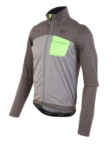 בגדי חורף פרל איזומי לגברים Pearl Izumi Select Escape Softshell Jacket - אפור