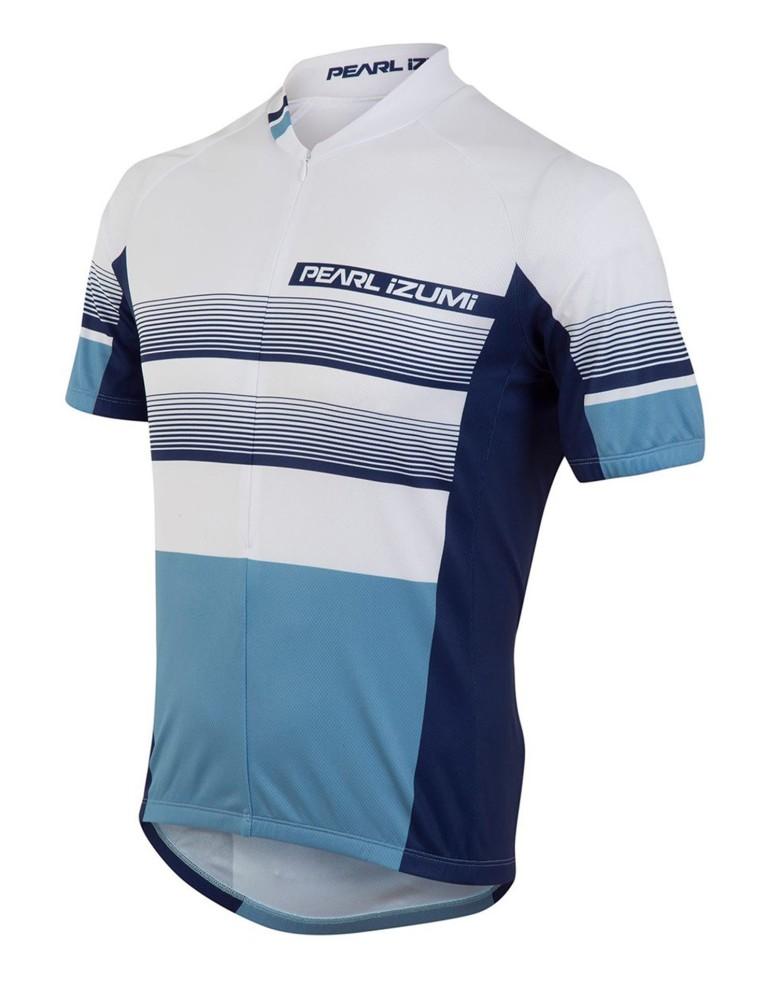 ביגוד פרל איזומי לגברים Pearl Izumi Select LTD Jersey - כחול/לבן