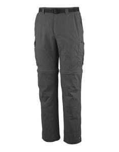 מכנס ספורט קולומביה לגברים Columbia Silver Ridge Convertible - אפור כהה
