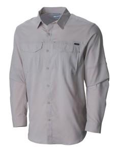 חולצת אימון קולומביה לגברים Columbia Silver Ridge Lite Long Sleeve - בז'