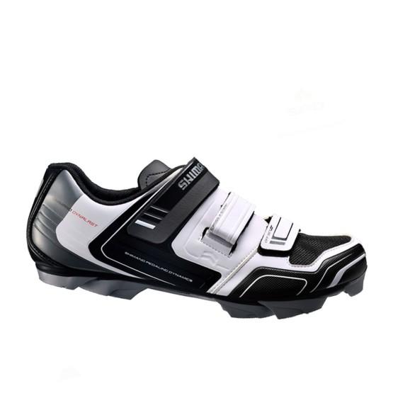 נעליים שימנו לגברים Shimano  XC31 - שחור/לבן
