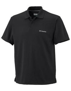 חולצת פולו קולומביה לגברים Columbia Zero Rules Polo - שחור