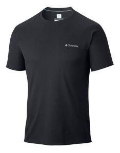 חולצת אימון קולומביה לגברים Columbia Zero Rules - שחור