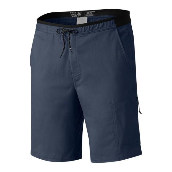 מוצרי Mountain Hardwear לגברים Mountain Hardwear AP Scrambler Short - כחול כהה