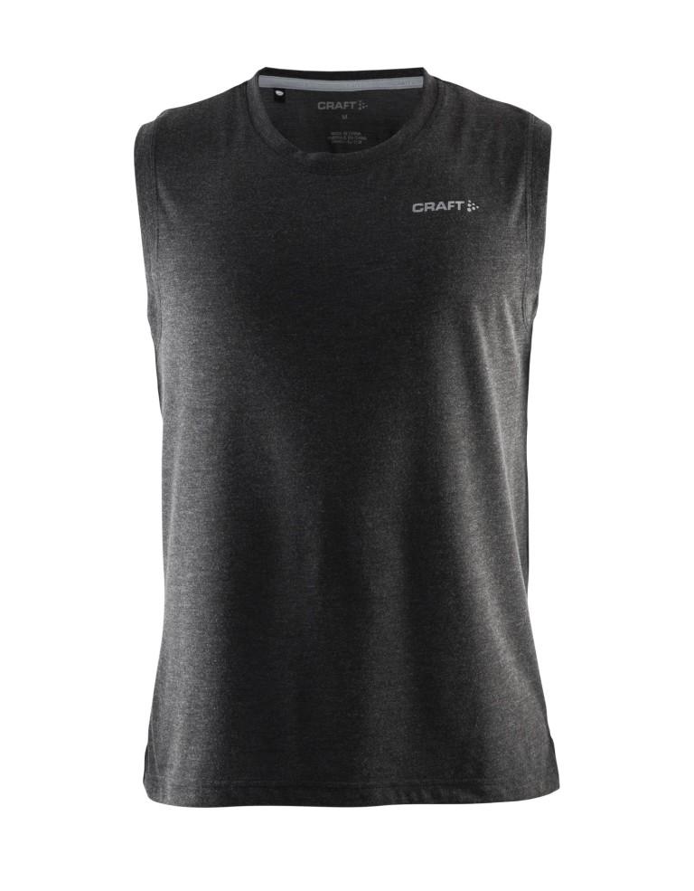 מוצרי Craft לגברים Craft Basic Sleeveless - שחור