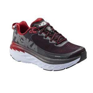 נעליים הוקה לגברים Hoka One One Bondi 5 Wide - שחור/אדום