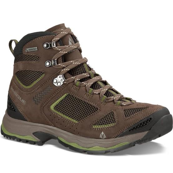נעלי הליכה ווסק לגברים Vasque Breeze III GTX - חום/ירוק