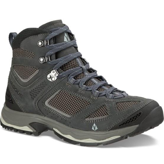 נעלי הליכה ווסק לגברים Vasque Breeze III - אפור כהה