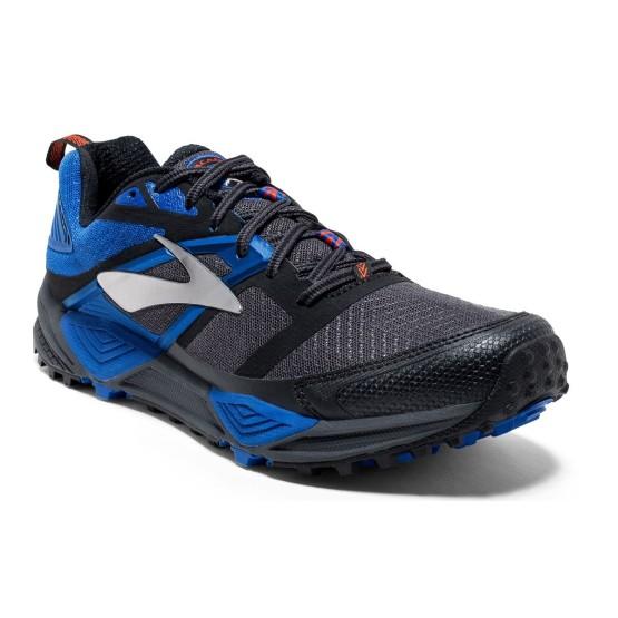 נעליים ברוקס לגברים Brooks Cascadia 12 - שחור/כחול