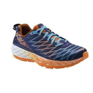 נעליים הוקה לגברים Hoka One One Clayton 2 - כחול/כתום