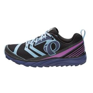 נעליים פרל איזומי לנשים Pearl Izumi EM Trail N2 - שחור/תכלת