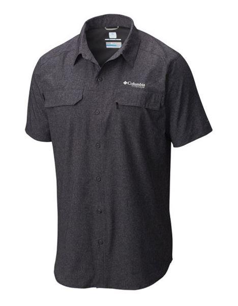מוצרי קולומביה לגברים Columbia Irico Short Sleeve - שחור