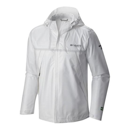 מוצרי קולומביה לגברים Columbia Outdry Ex Eco Jacket - לבן