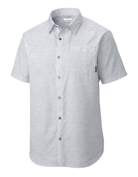 מוצרי קולומביה לגברים Columbia Pilsner Peak II Short Sleeve - לבן