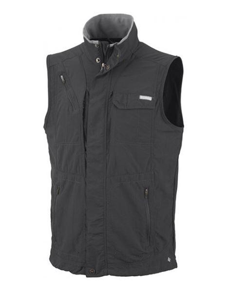 מוצרי קולומביה לגברים Columbia Silver Ridge Vest - אפור כהה