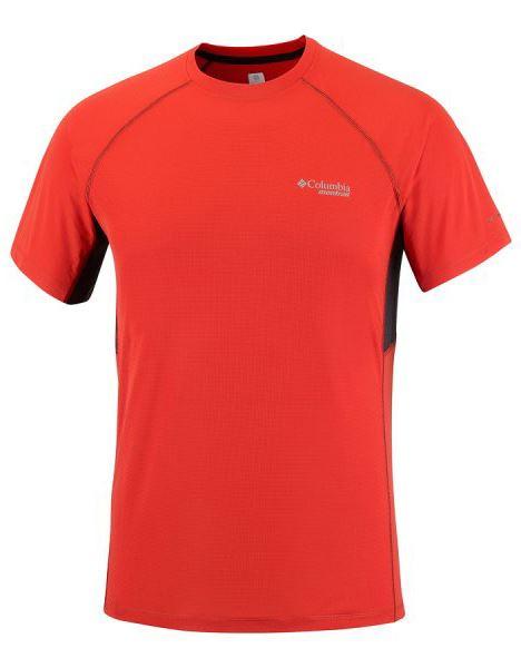 מוצרי קולומביה לגברים Columbia Titan Ultra Short Sleeve - כתום