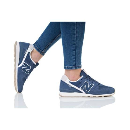 נעלי הליכה ניו באלאנס לנשים New Balance WR996 - כחול/לבן