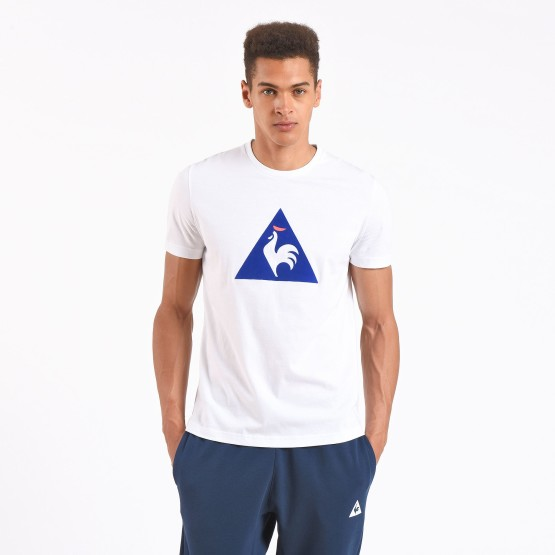 חולצות אופנה לה קוק ספורטיף לגברים Le Coq Sportif Essential T-Shirt N2 - לבן