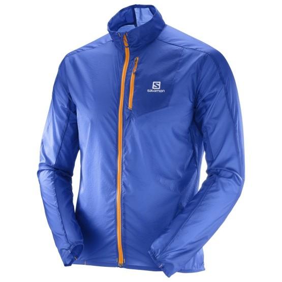 ביגוד סלומון לגברים Salomon Fast Wing Jacket - כחול
