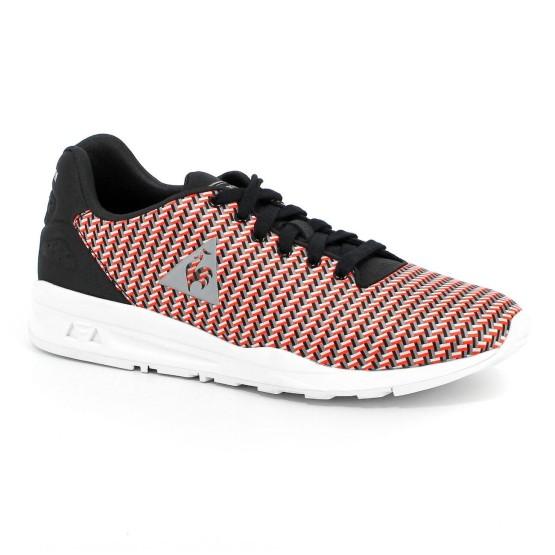 נעלי הליכה לה קוק ספורטיף לגברים Le Coq Sportif LCS R9XX Geo Jacquard - שחור/אדום