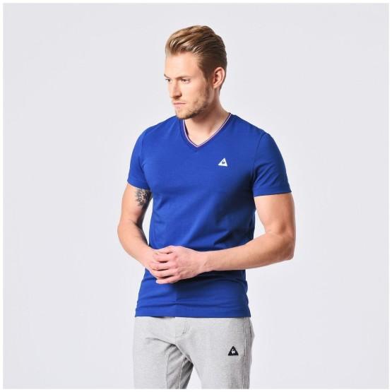 מוצרי לה קוק ספורטיף לגברים Le Coq Sportif Lauzet Tee SS - כחול