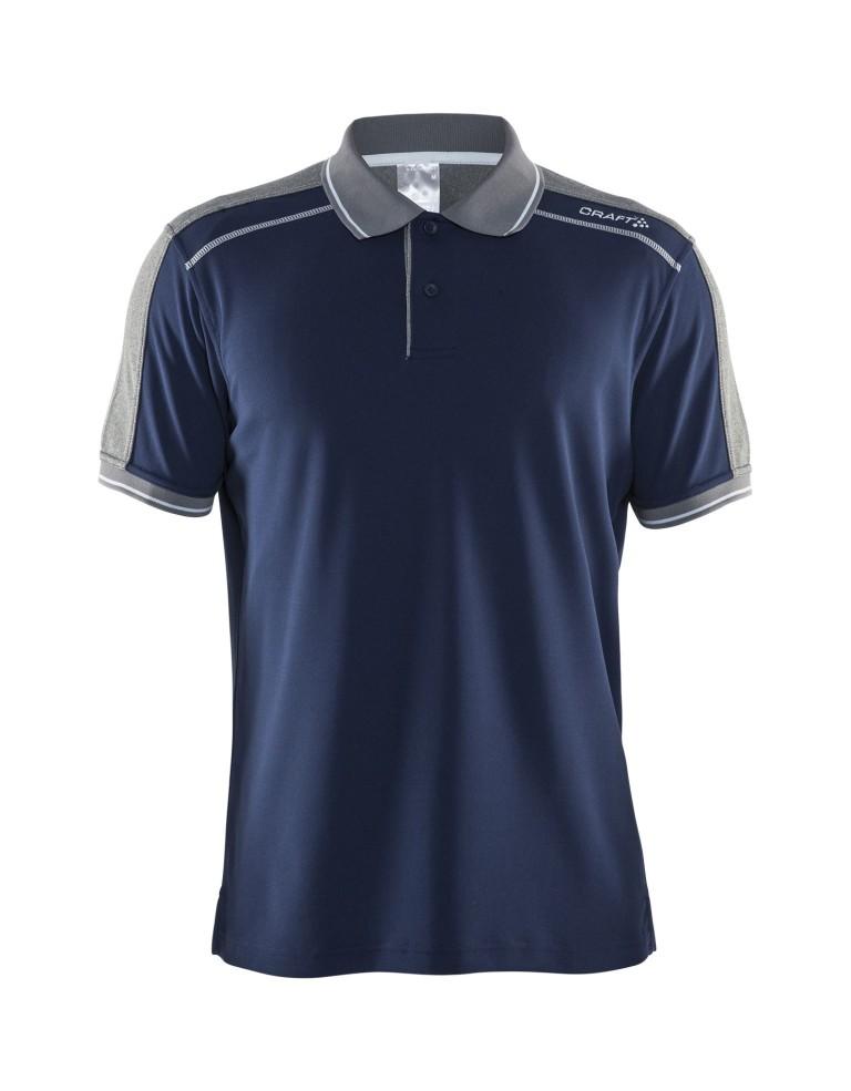 ביגוד Craft לגברים Craft Noble Polo Piquet - כחול כהה