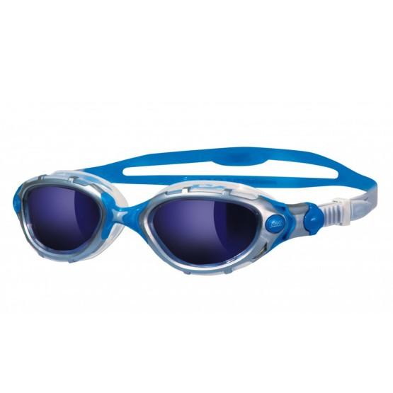 אביזרים זוגס לנשים Zoggs Predator Flex Mirror - כחול