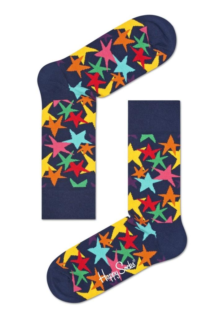 מוצרי Happy Socks לנשים Happy Socks Stars - כחול כהה