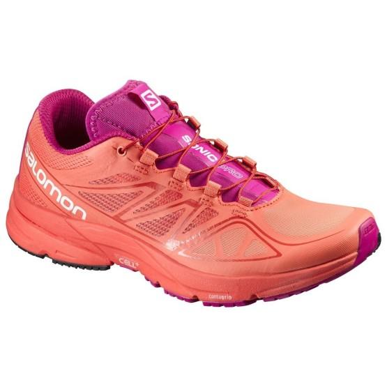 נעליים סלומון לנשים Salomon Sonic Pro - אפרסק