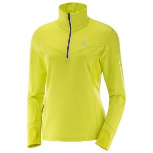 מוצרי סלומון לנשים Salomon Trail Runner Warm Mid - צהוב