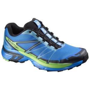 נעלי טיולים סלומון לגברים Salomon Wings Pro 2 - שחור/כחול