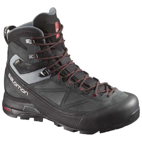 נעלי טיולים סלומון לגברים Salomon X Alp MTN GTX - שחור