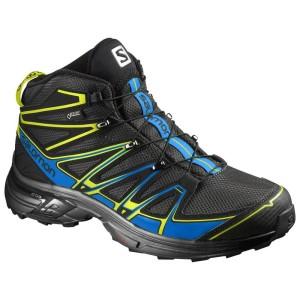 נעלי טיולים סלומון לגברים Salomon X-Chase Mid GTX - שחור