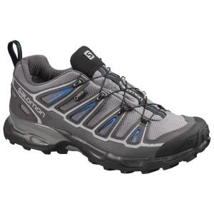 נעלי טיולים סלומון לגברים Salomon X Ultra 2 GTX - אפור