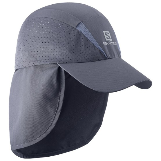 אביזרי ביגוד סלומון לנשים Salomon XA Plus Cap - אפור כהה